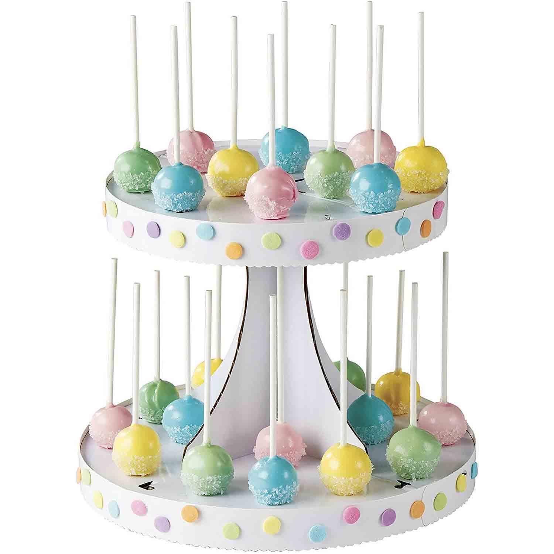 2 Tier Cake Pop Stand