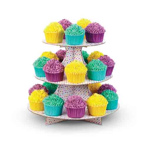Party Dots Cupcake Stand