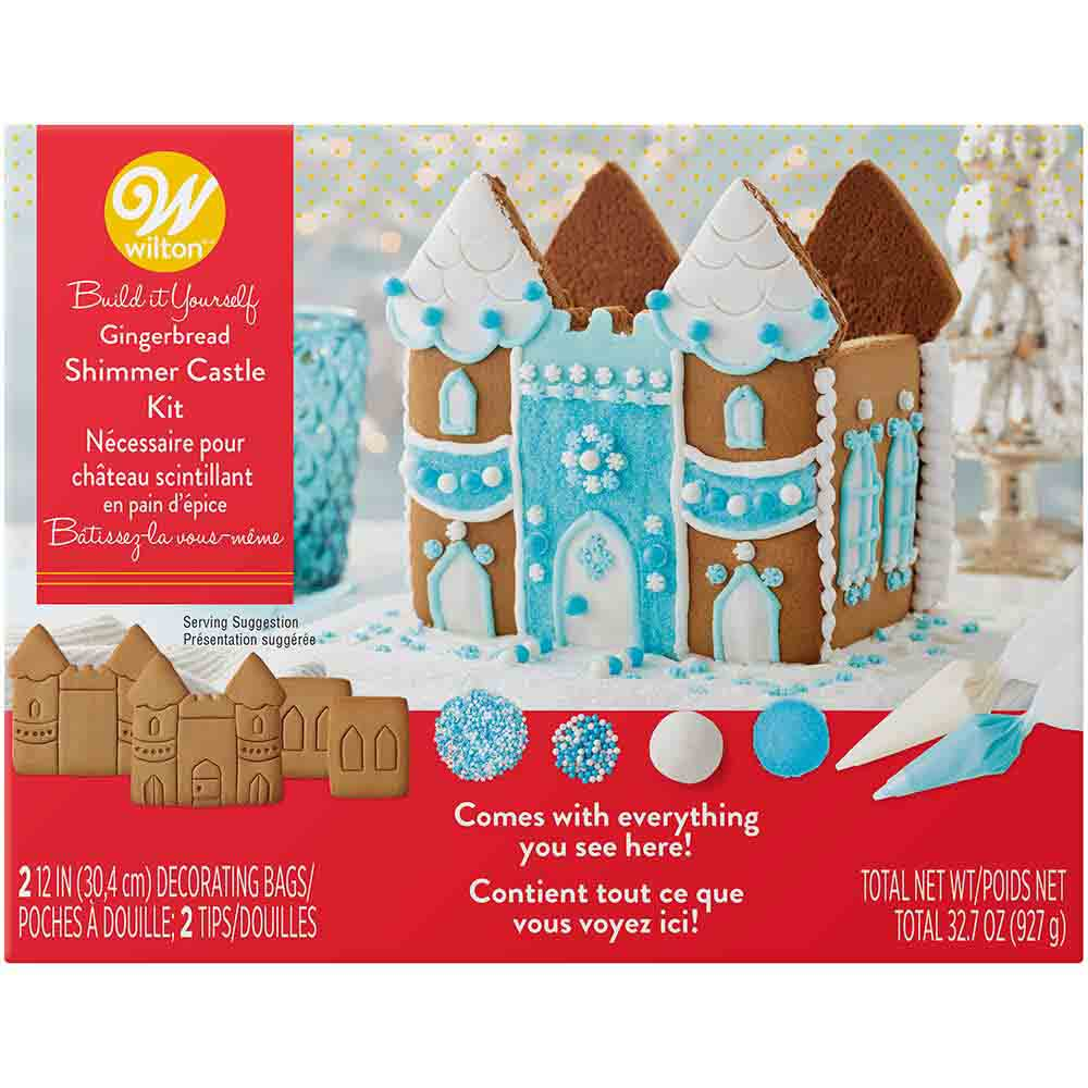 Shimmer Castle Gingerbread House Kit