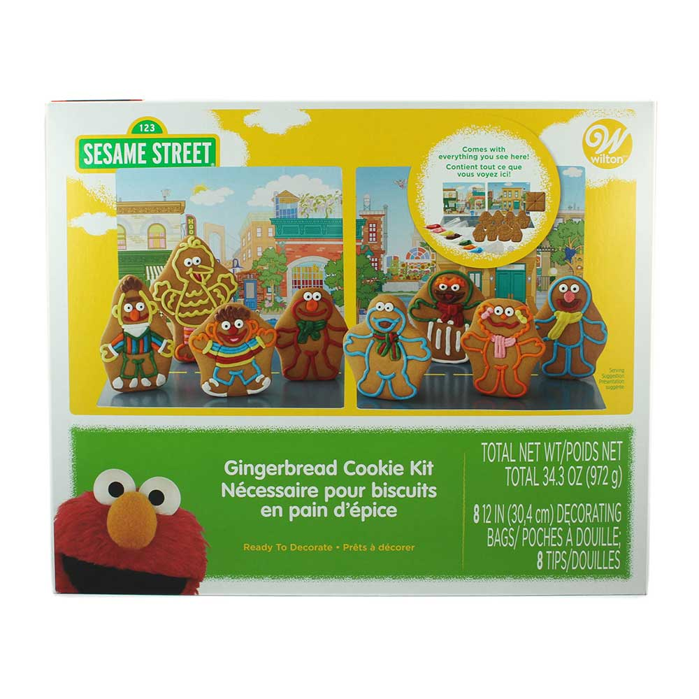 Sesame Street Gingerbread Cookie Kit
