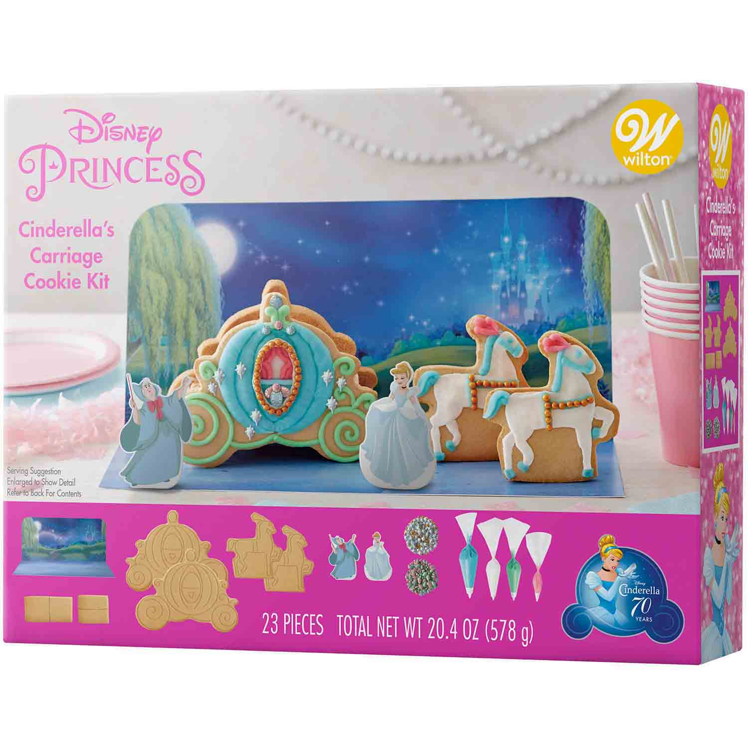 Cinderella's Carriage Cookie Kit