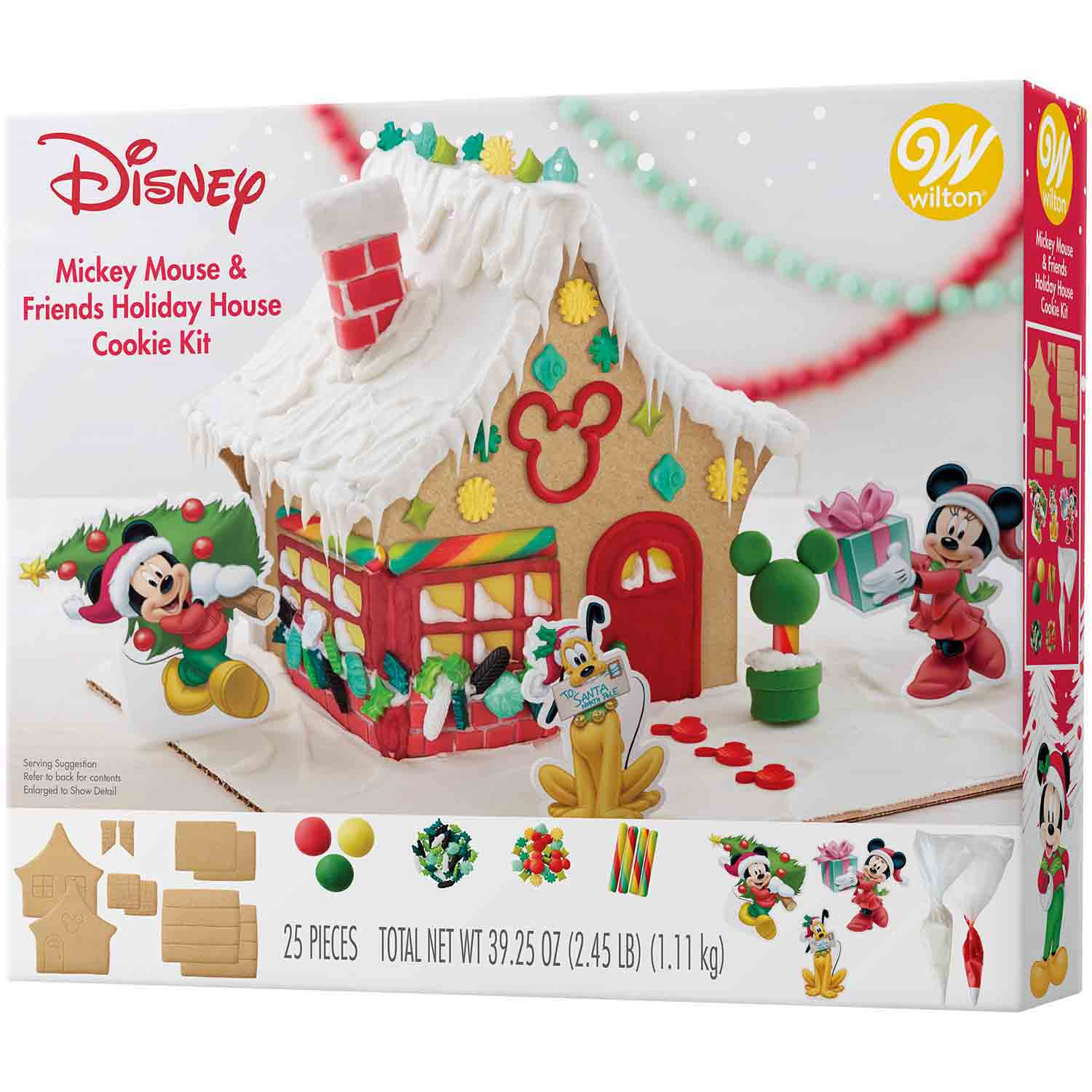 Mickey Mouse & Friends Gingerbread House Kit