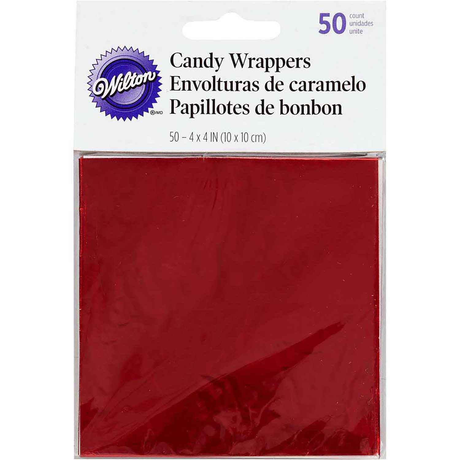 Red Candy Wrappers