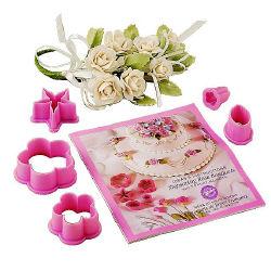 Gum Paste Rose Bouquet Set