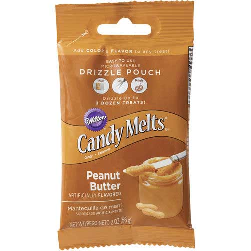 Peanut Butter Candy Coating Drizzle Pouch