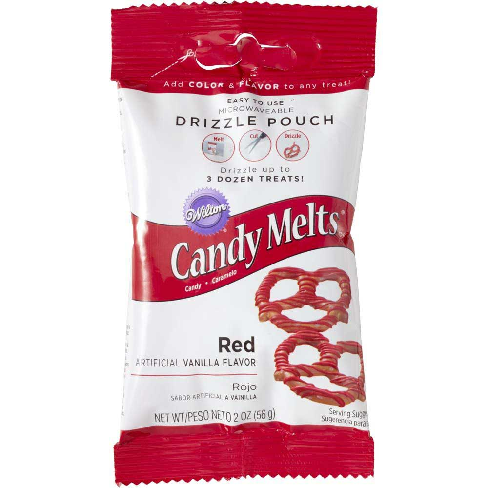 Red Candy Coating Drizzle Pouch