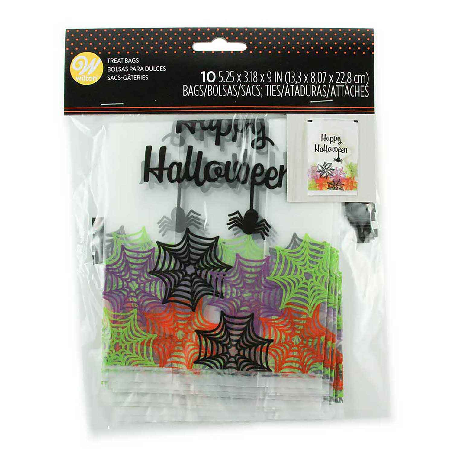 Halloween Web Treat Bags