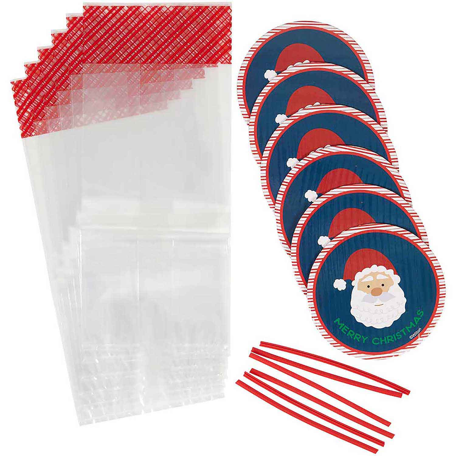 Santa Claus Mini Plate Kit