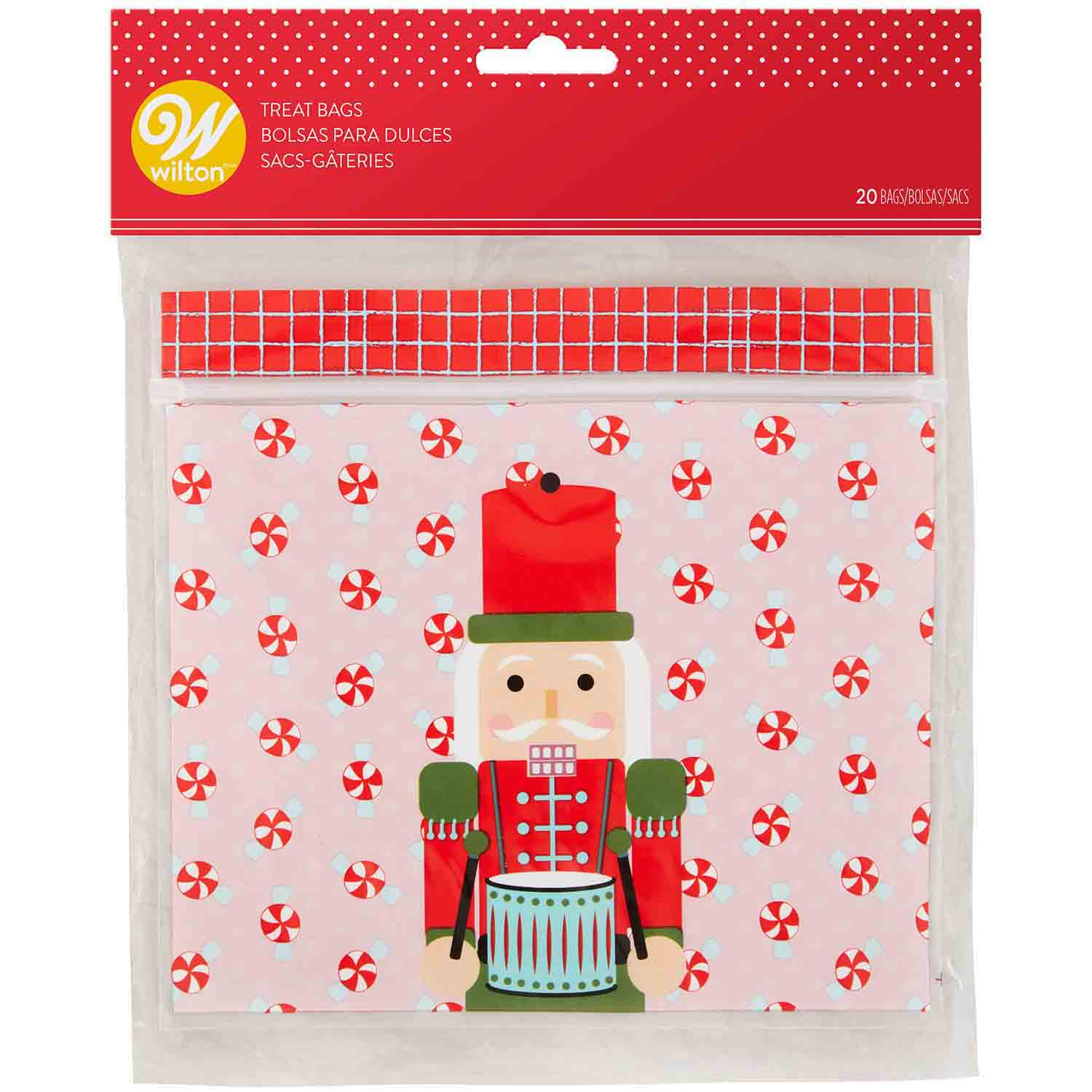 Nutcracker Resealable Bags