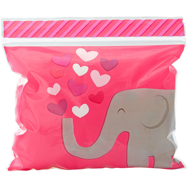Valentine Elephant Treat Bags