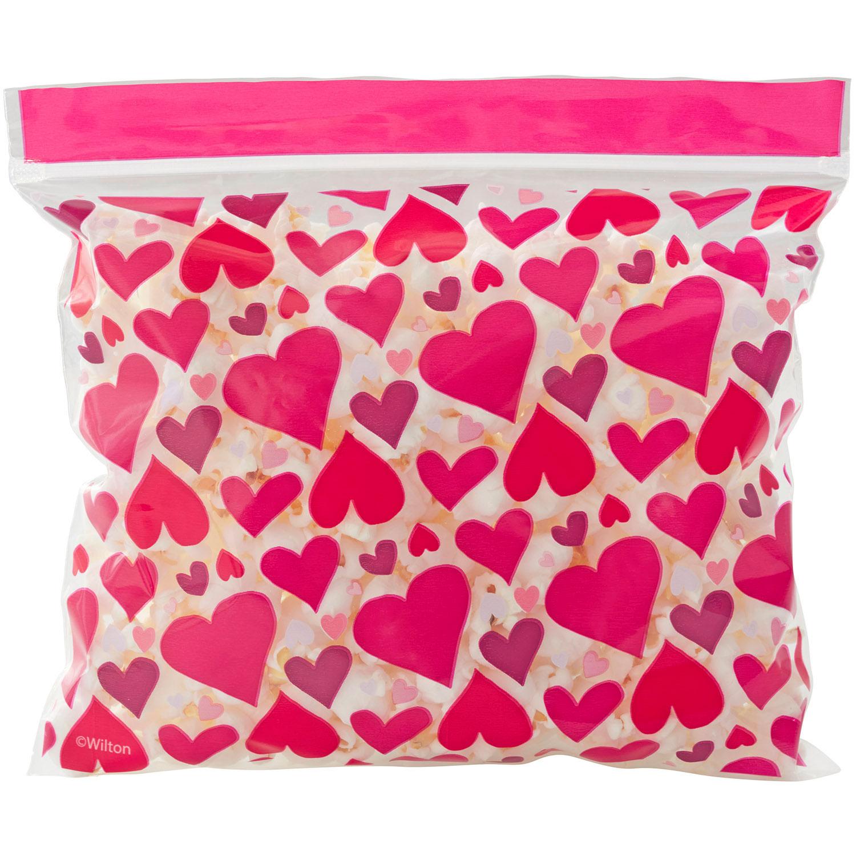 Valentine Hearts Treat Bags
