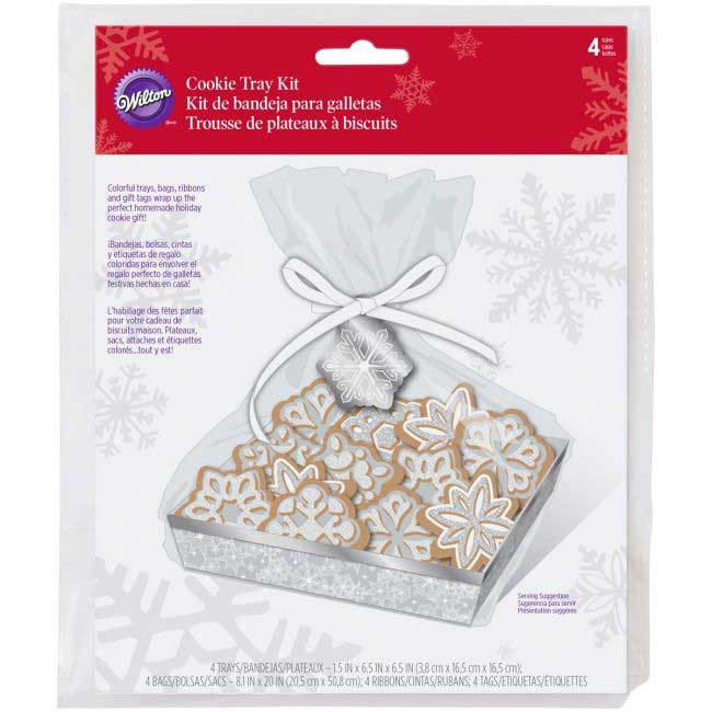 Snowflake Cookie Tray Kit
