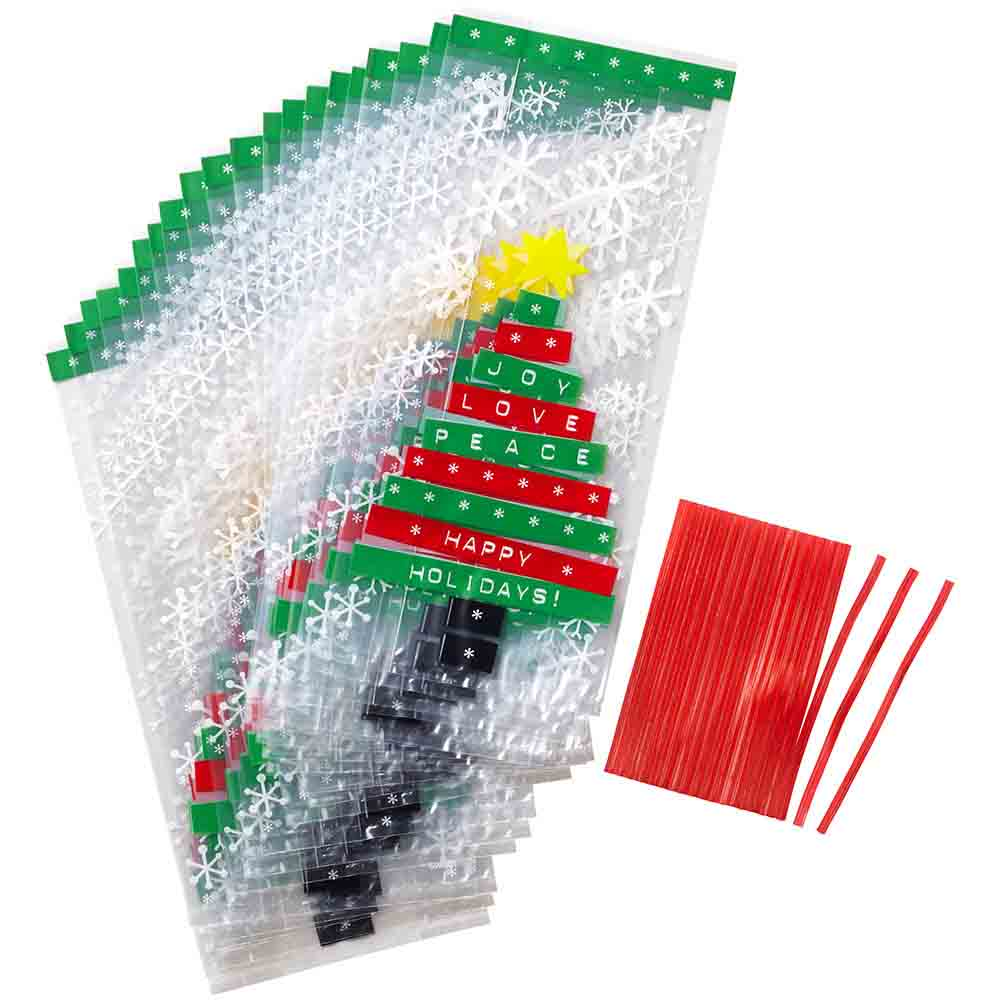 Christmas Tree Treat Bags