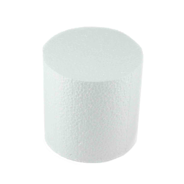 """4"""" x 4"""" Round Styrofoam Cake Dummy"""