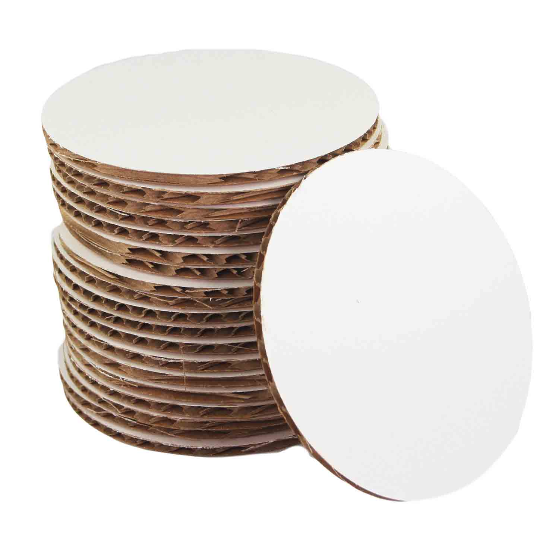 "3½"" Mini Round Cake Cardboards"