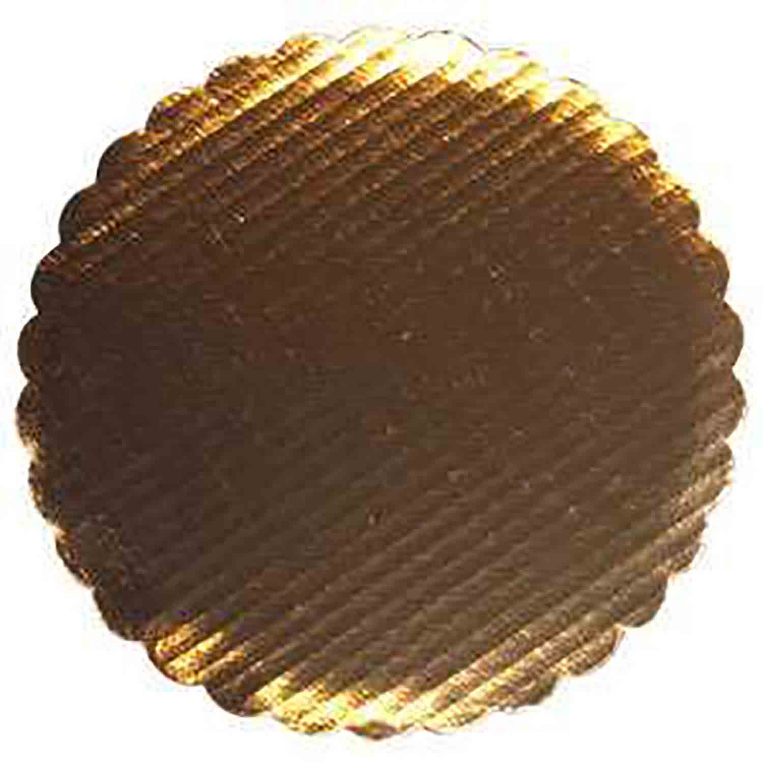 "10"" Gold Corrugated Round Cake Cardboards"