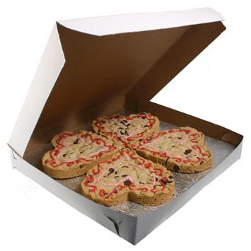 "12"" x 12"" x 2"" Cookie Boxes"