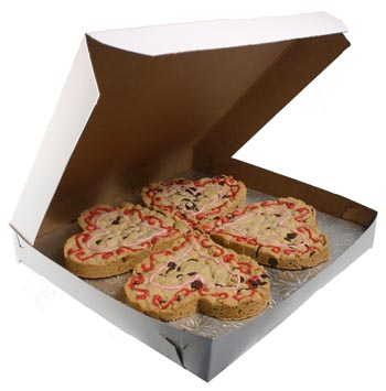 "14"" x 14"" x 1 1/2"" Cookie Boxes"