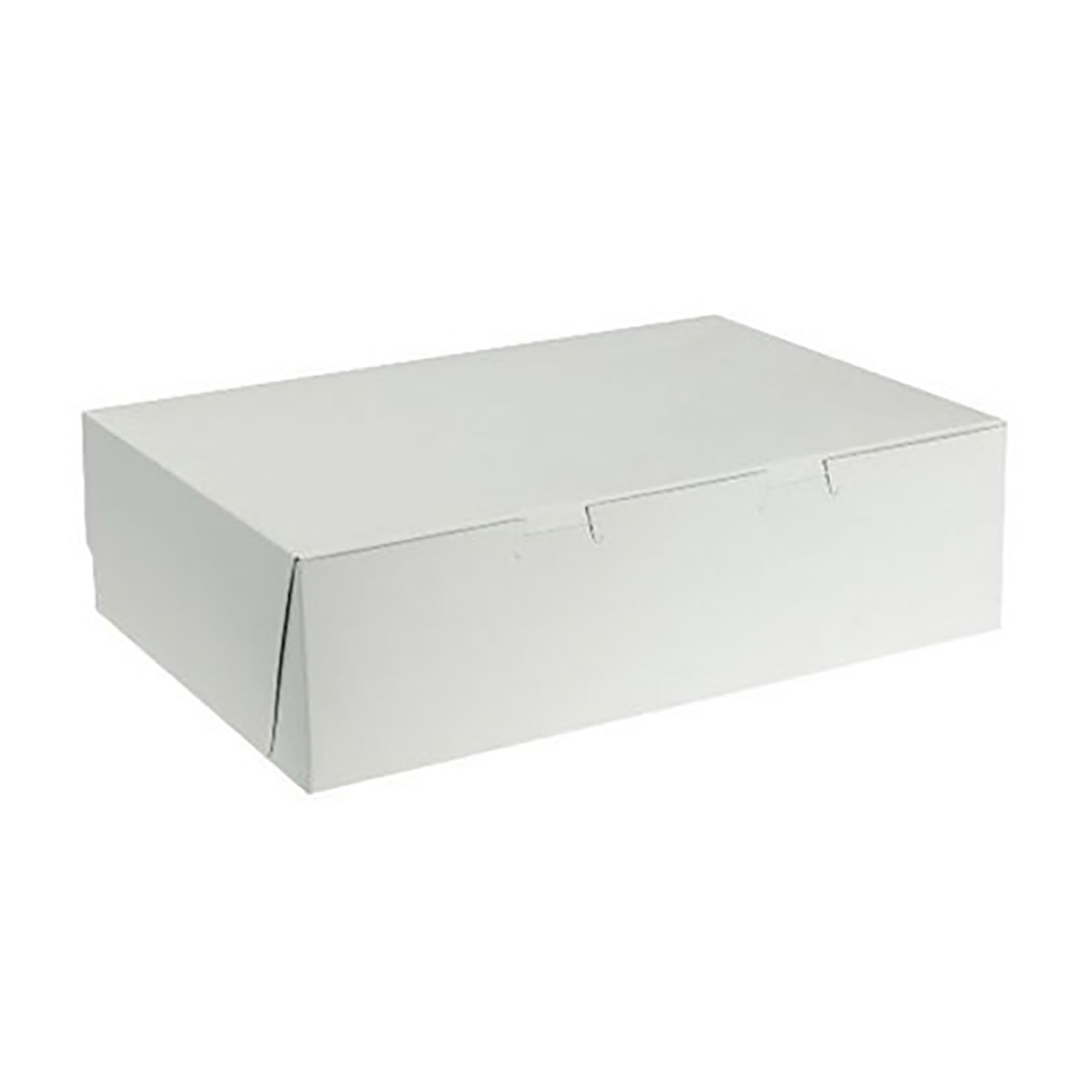 "14"" x 10"" x 4"" Quarter Sheet Cake Boxes"