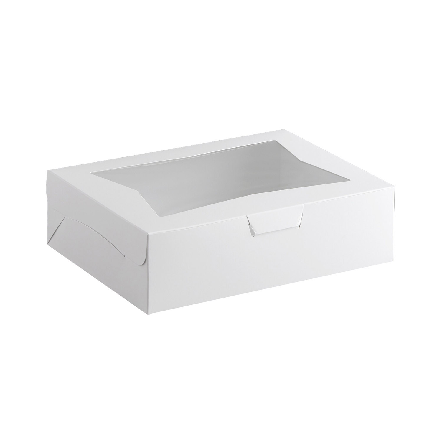 "19"" x 14"" x 4"" Half Sheet Cake Boxes With Window"