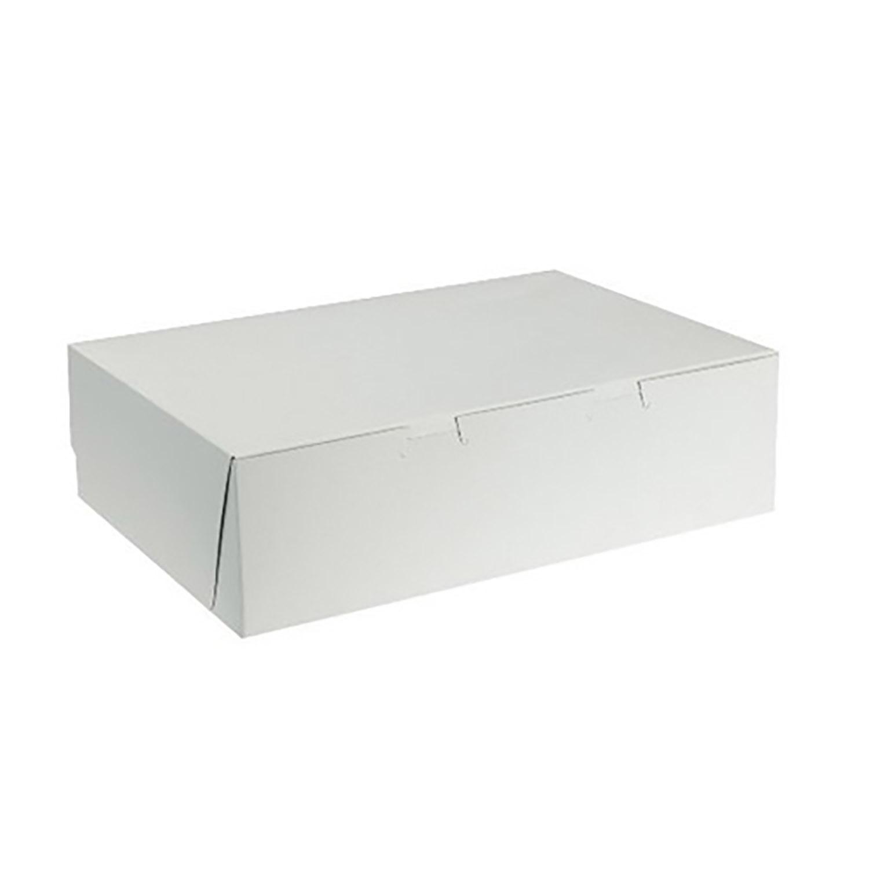 "20"" x 14"" x 4"" Half Sheet Cake Box"
