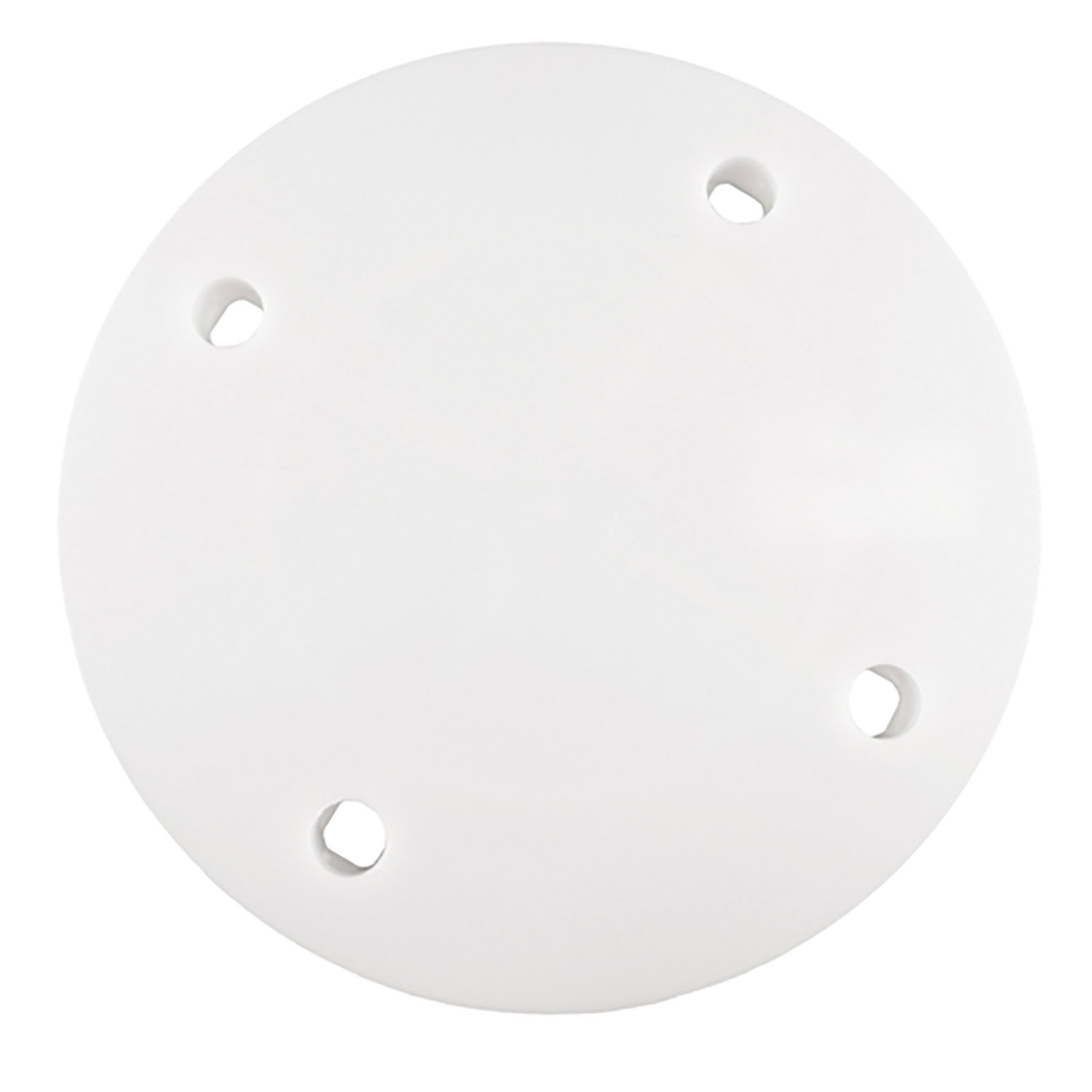 "6"" White Locking Round Separator Plate"