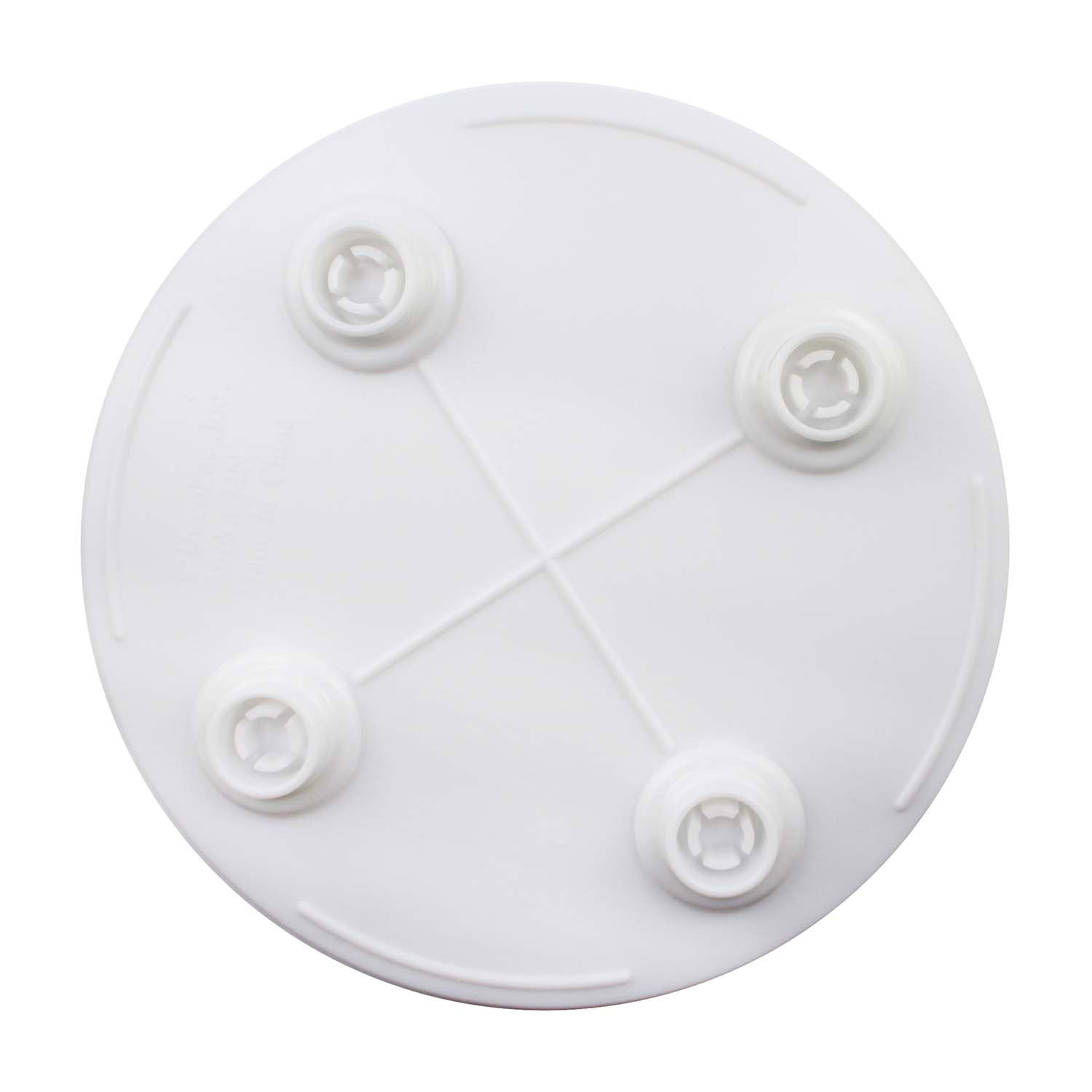 Bakery Craft Round and Square Plates with Grecian Pillars