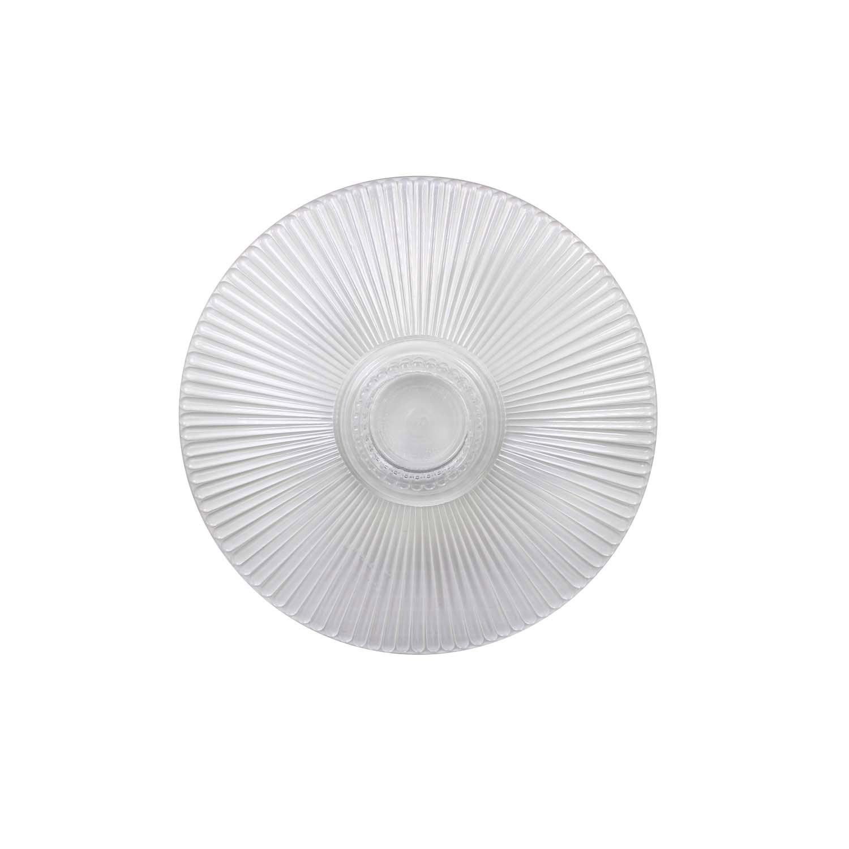 "6"" Crystal Splendor Round Separator Plate"