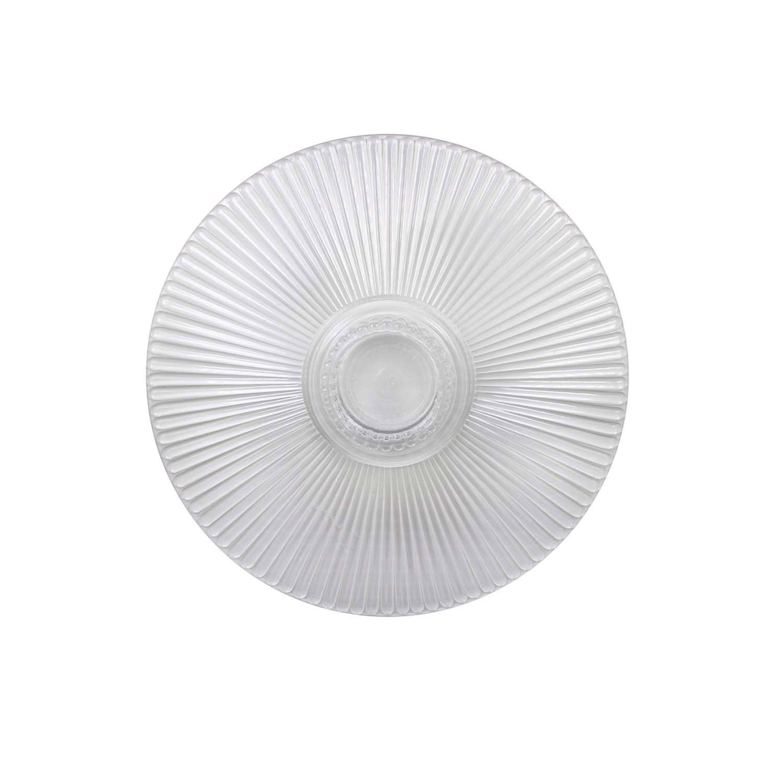 "8"" Crystal Splendor Round Separator Plate"