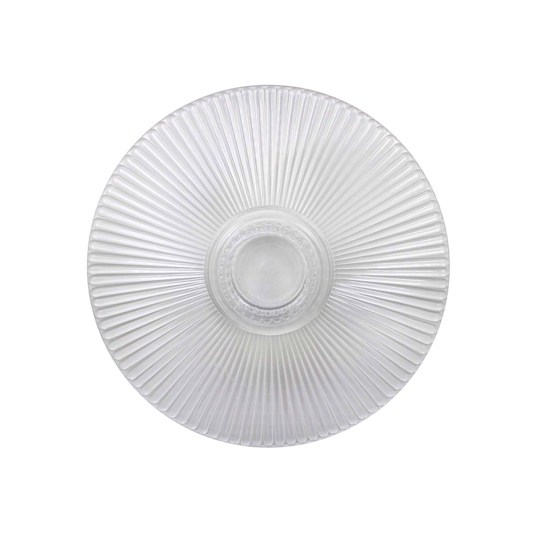 "10"" Crystal Splendor Round Separator Plate"