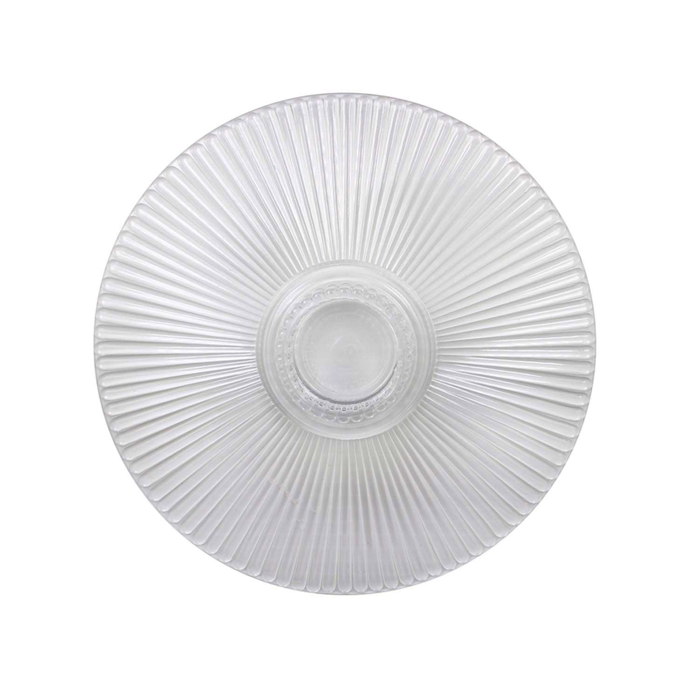 "12"" Crystal Splendor Round Separator Plate"