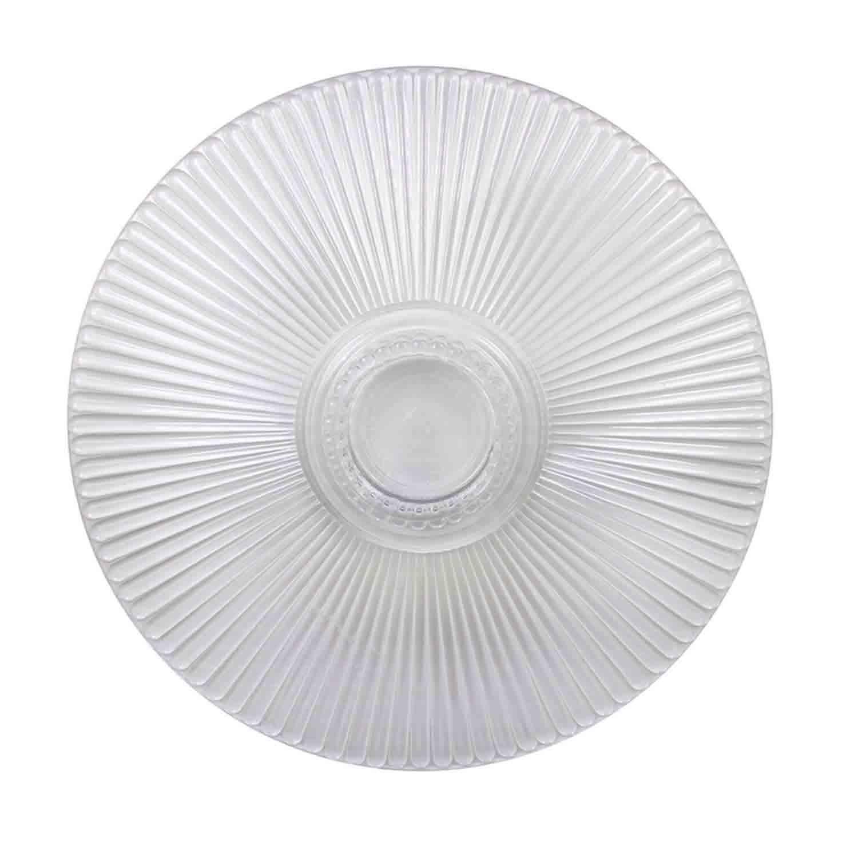"14"" Crystal Splendor Round Separator Plate"