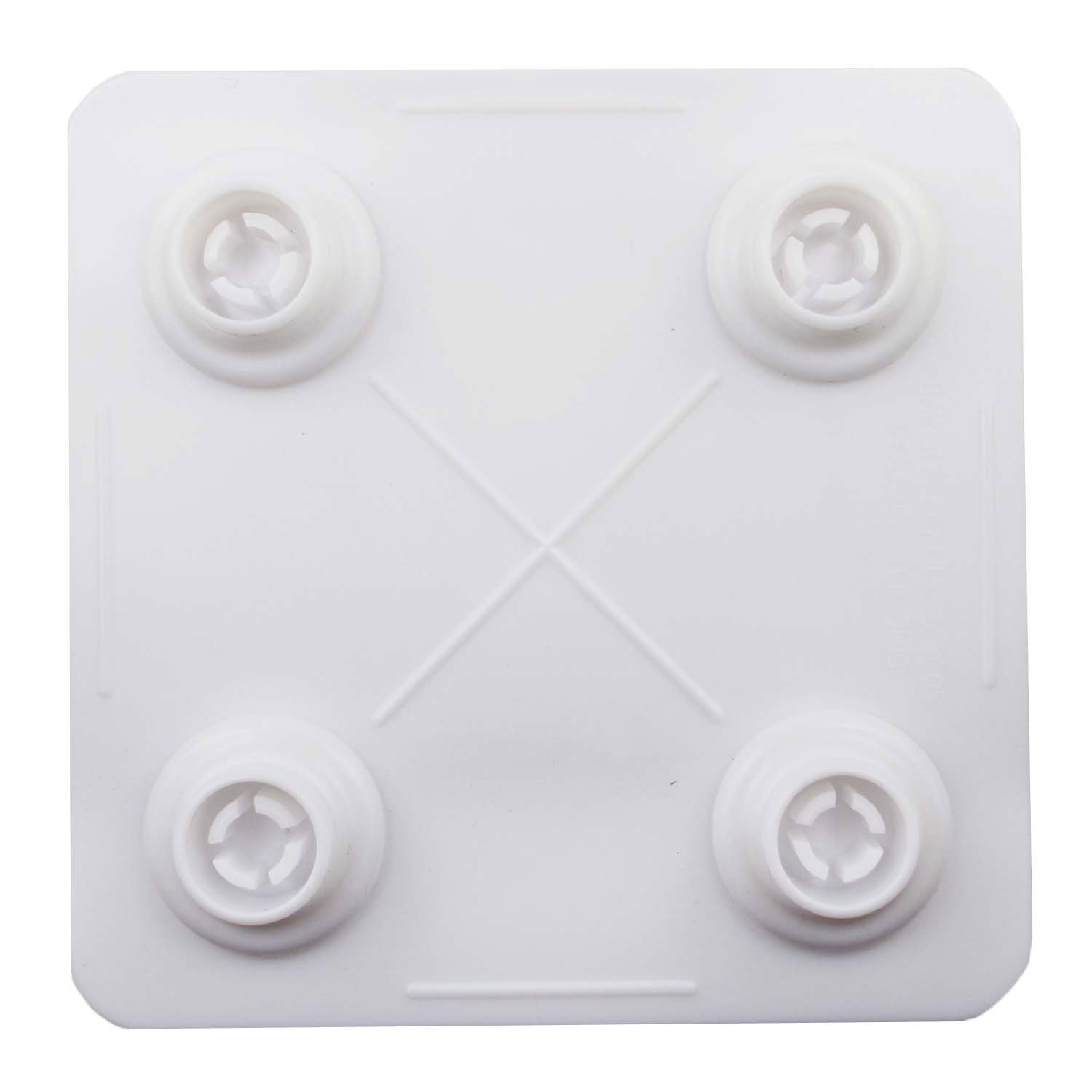 "6"" Square Bakery Craft Separator Plate"