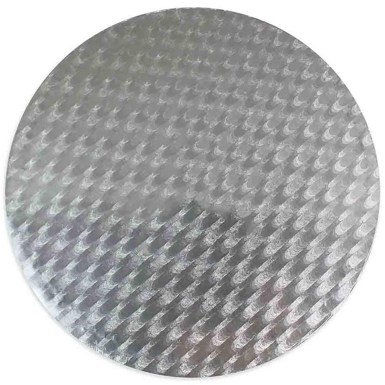"""6"""" PME Round Silver Cake Board"""
