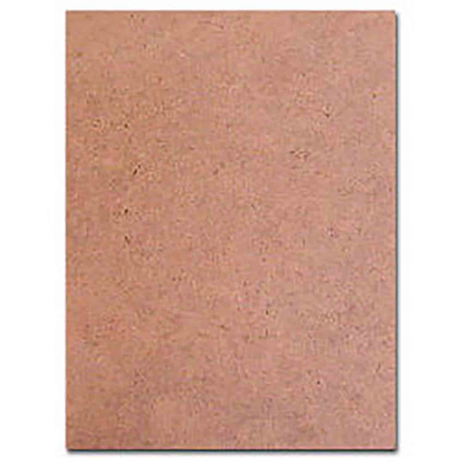 "19"" x 14"" Rectangle Masonite Half Sheet Cake Board"