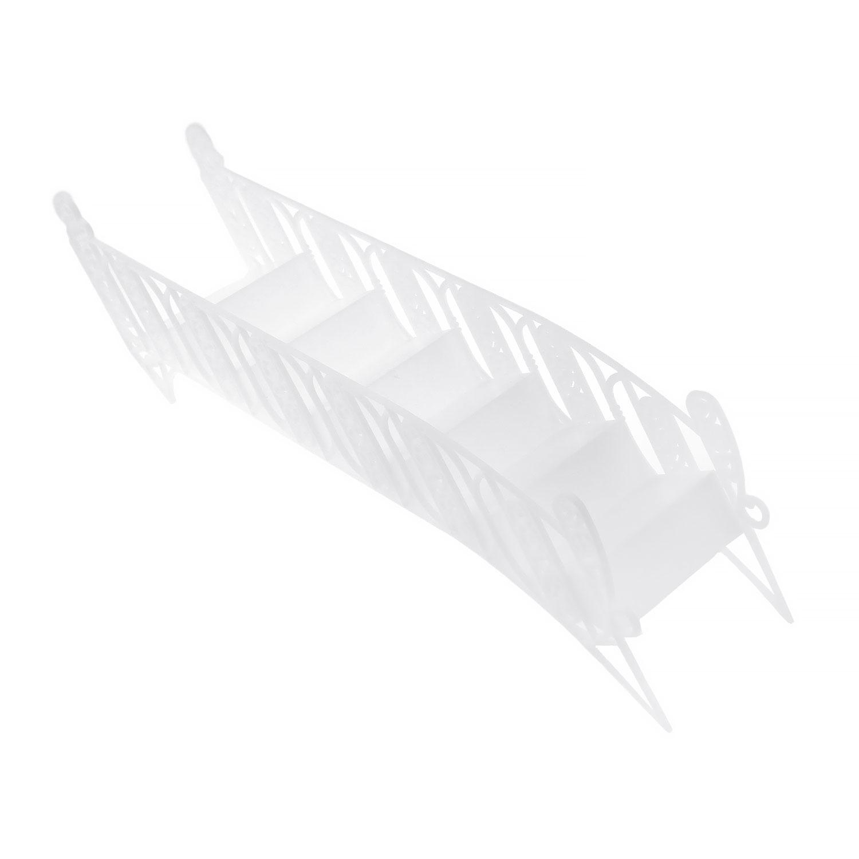Plastic White Stairs