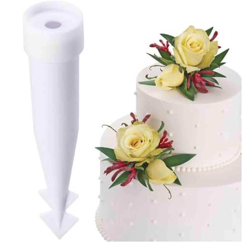 Fresh Flower Cake Spikes