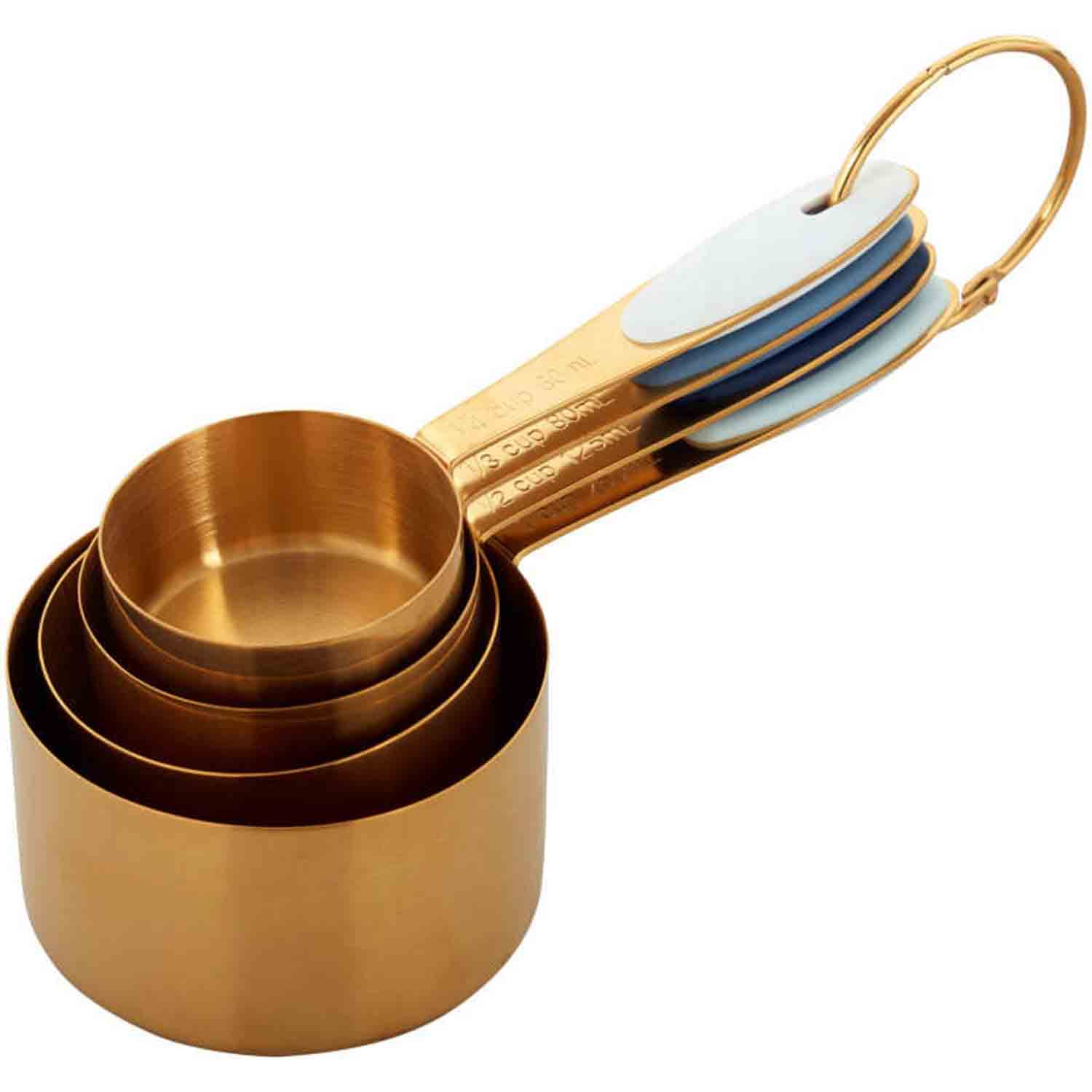 Gold Nesting Measuring Cup Set