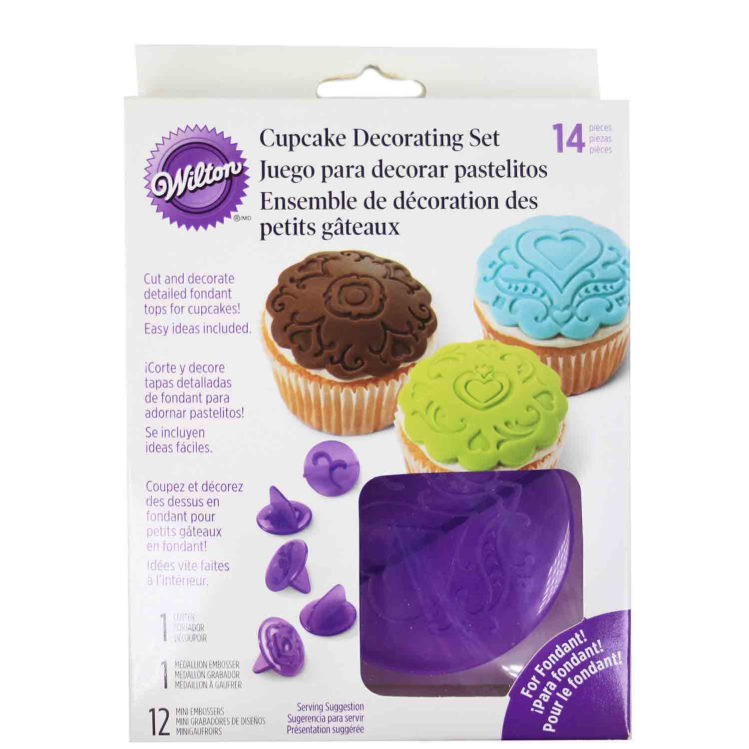 Hearts Cupcake Decorating Set