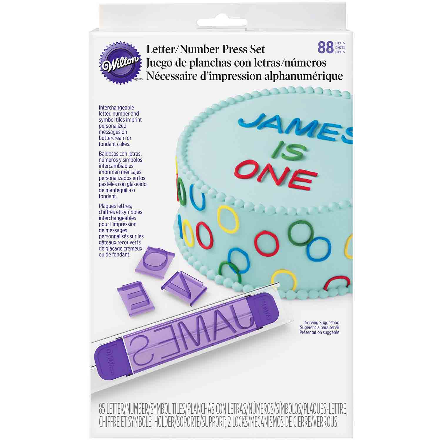 Letters and Numbers Press Set