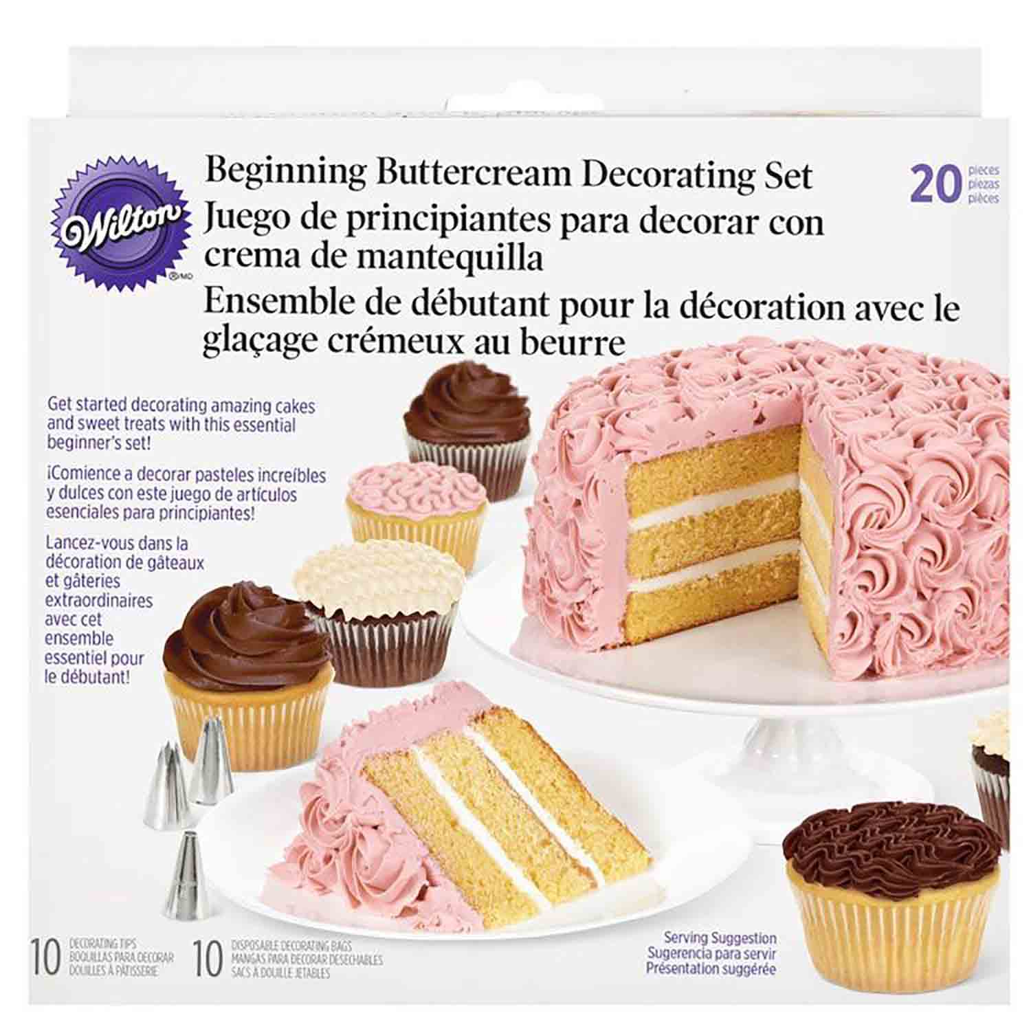 Basic Buttercream Decorating Set