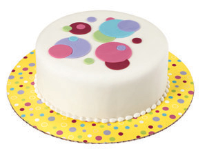 "12"" Sweet Dots Cake Cardboards"