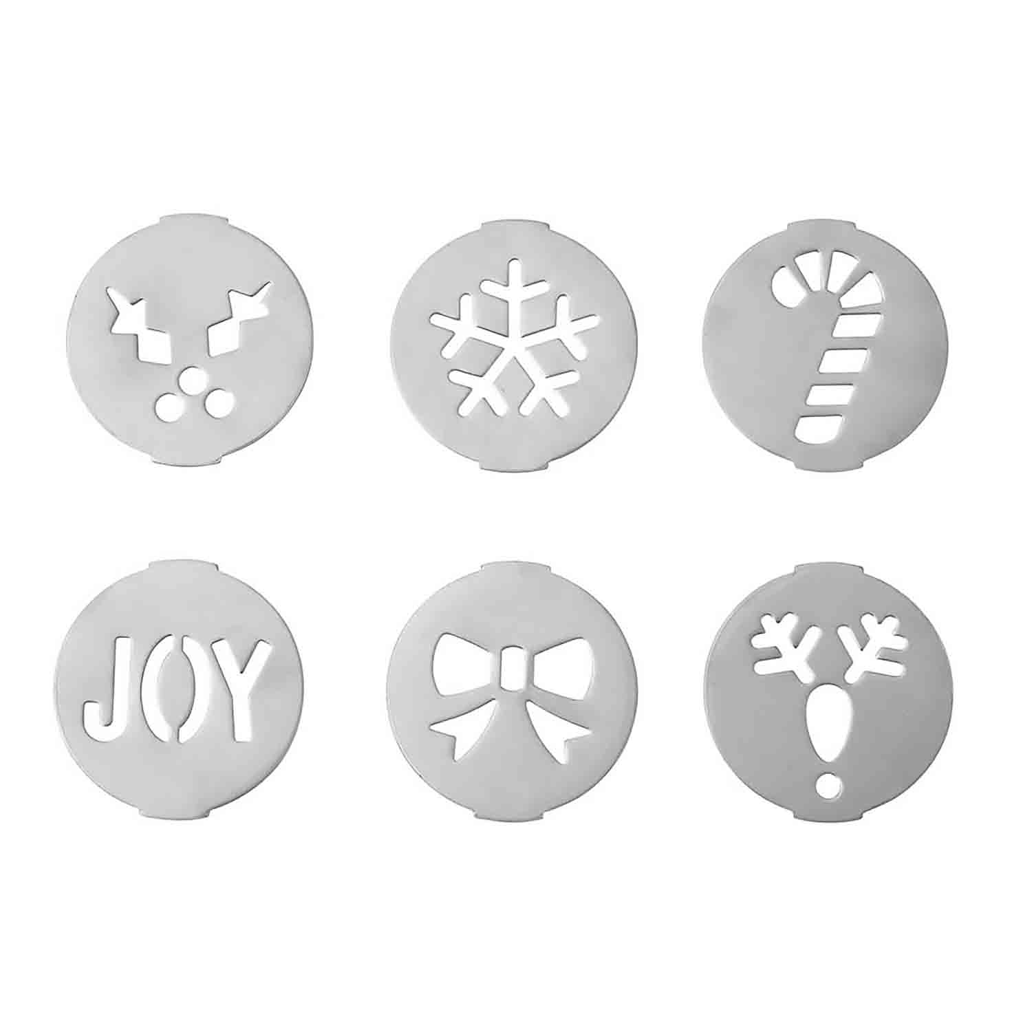 Holiday Cookie Press Disc Set