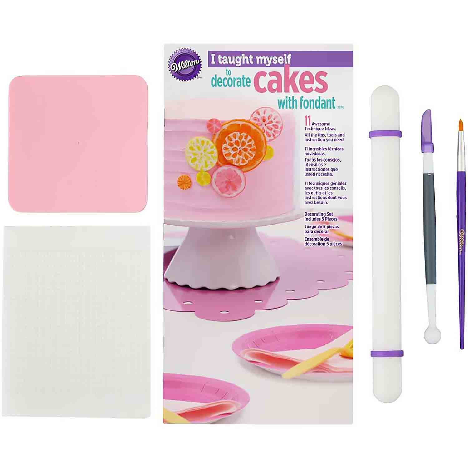 ' I Taught Myself to Decorate Cakes with Fondant' Set