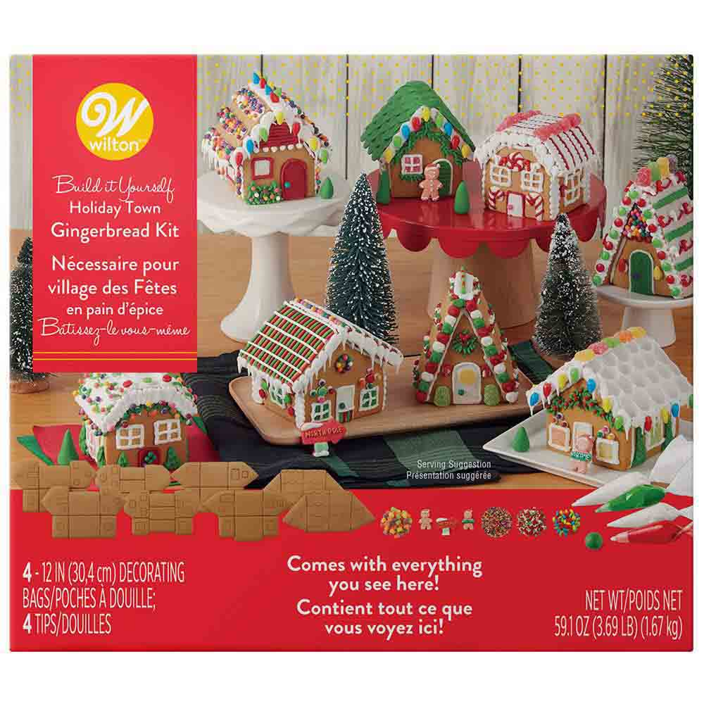 Holiday Town Gingerbread Kit