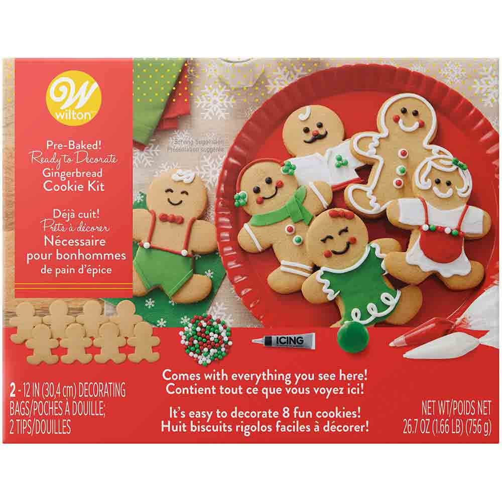 Gingerbread Boy Cookie Kit
