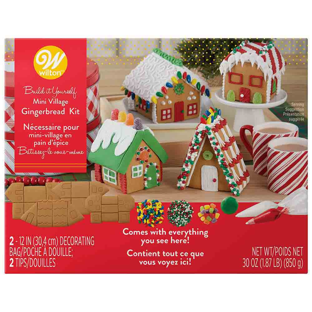 Mini Village Gingerbread Kit