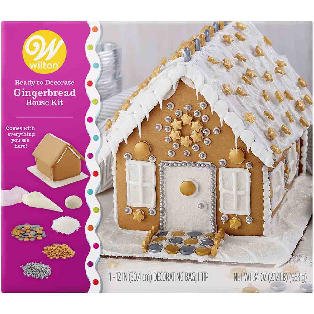 Bling Gingerbread House Kit