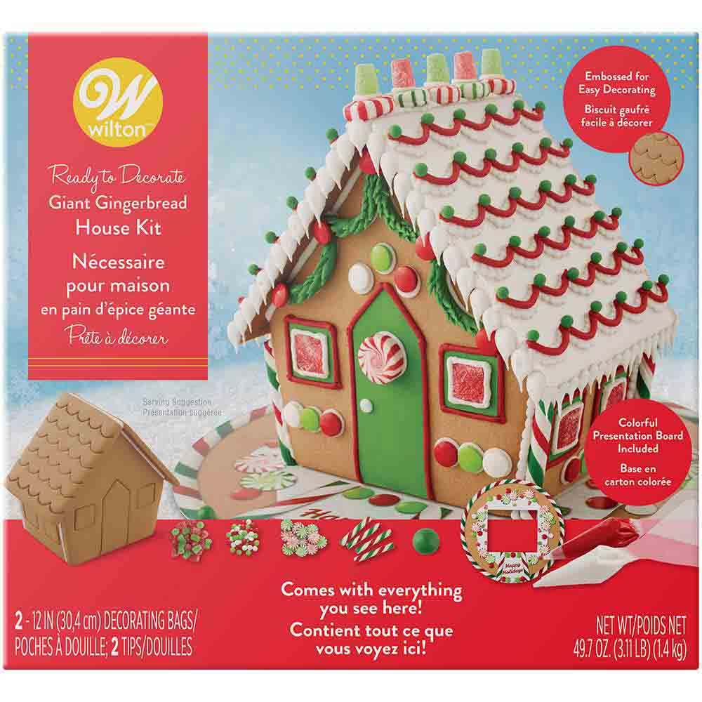 Giant Gingerbread House Kit