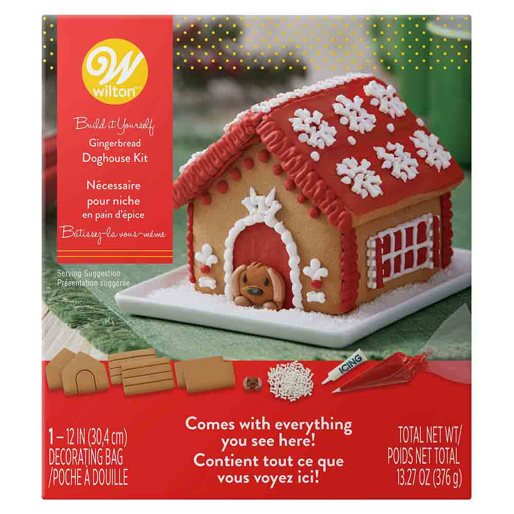 Gingerbread Doghouse Kit